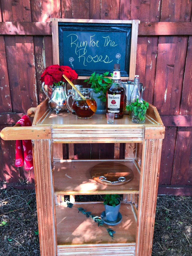 Custom Bar Cart | The Rose Table