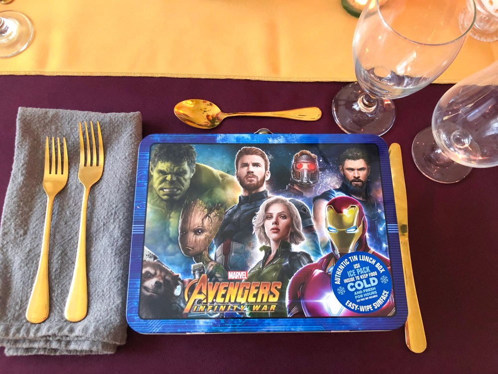 Captain Marvel Food, Recipes, Party ideas   The Rose Table
