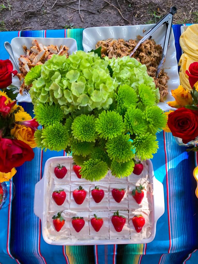 Cinco de Mayo party ideas | The Rose table