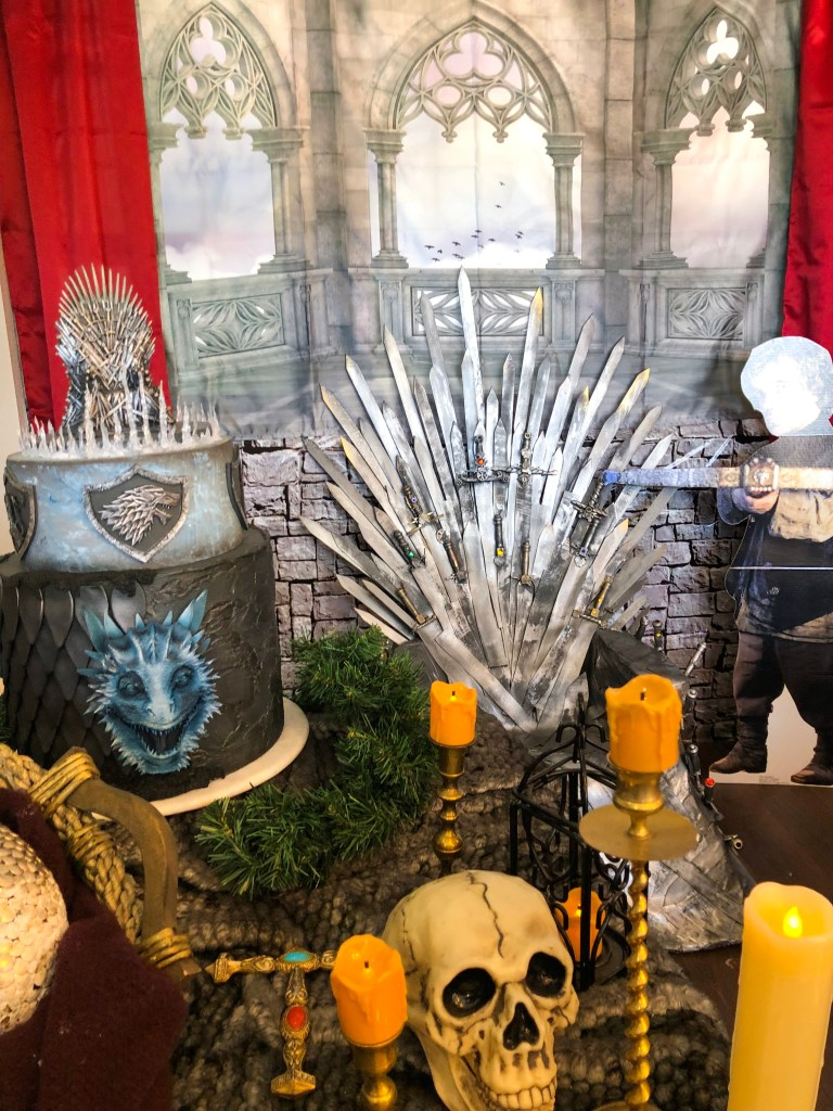 Game of Thrones High Tea at The London Baker