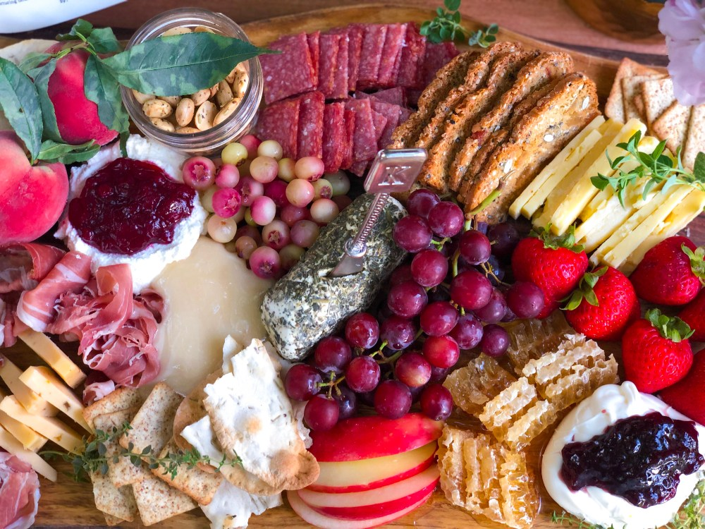 Midsummer Cheese Board, Best Cheese Board Recipe