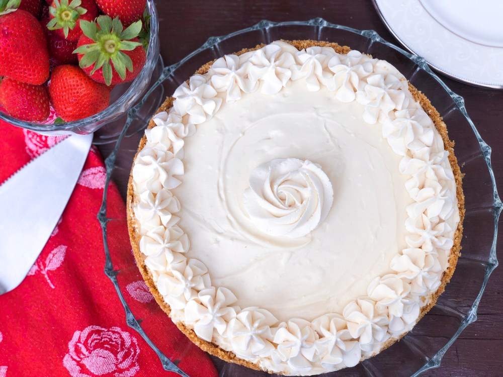 Vanilla No-Bake Cheesecake