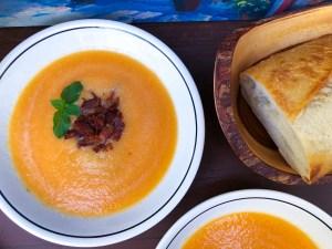 Bacon Cantaloupe Soup