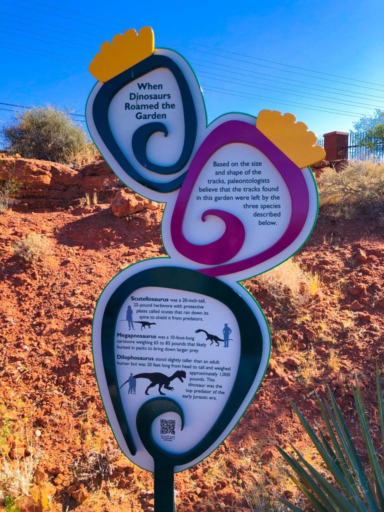 Red Hills Desert Garden Saint George Utah   The Rose Table