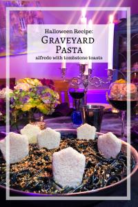 Graveyard Pasta, Halloween Dinner Recipe Ideas