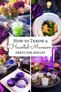 Disney Halloween Haunted Mansion Party ideas recipes