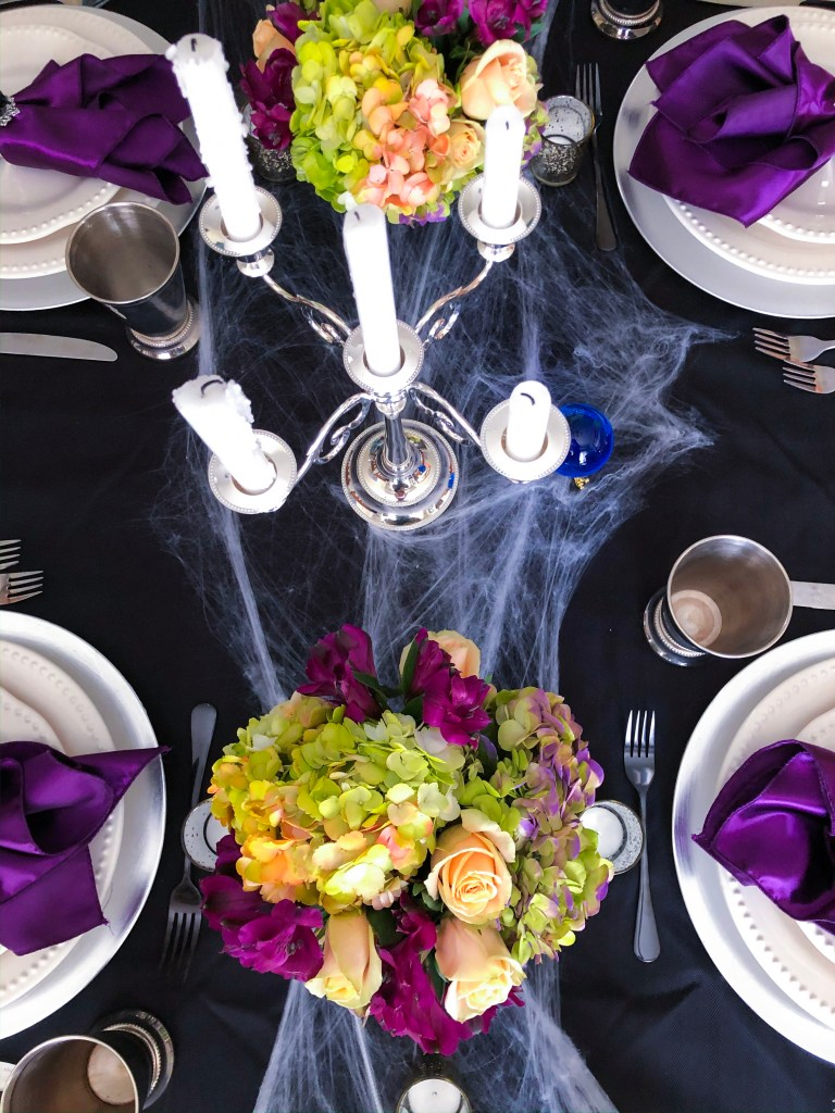 Haunted Mansion Halloween Dinner Party