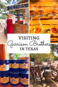 Visiting Garrison Brothers Distillery Texas Bourbon