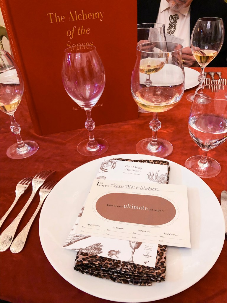 JCB Boisset Alchemy of the Senses Book Dinner Wine Event
