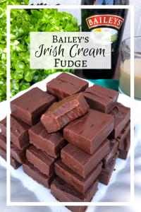 Saint Patrick's Day Dessert, Bailey's Irish Cream Fudge