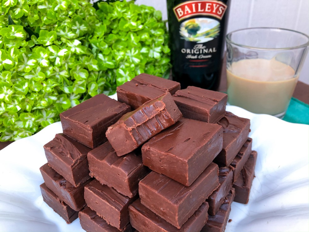 Saint Patrick's Day Dessert, Bailey's Irish Cream Fudge