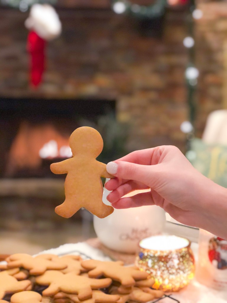 Maple Gingerbread Men Cookies