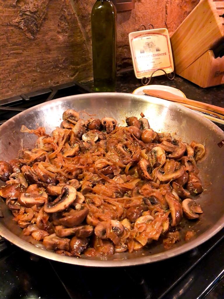 Mushroom Baked Pasta