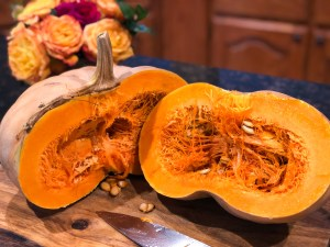 Homemade Fairytale Pumpkin Purée