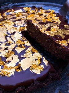 Edible Gold Leaf Tart, Dessert Recipes, How to Use