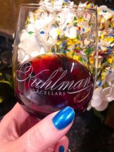 Kuhlman Cellars 2017 Sangiovese Newsom Vineyards