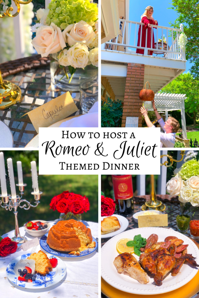 Romeo & Juliet Party Wedding Ideas Recipes