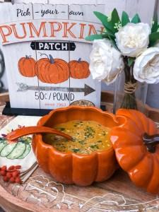 The Rose Table's Pumpkin Soup