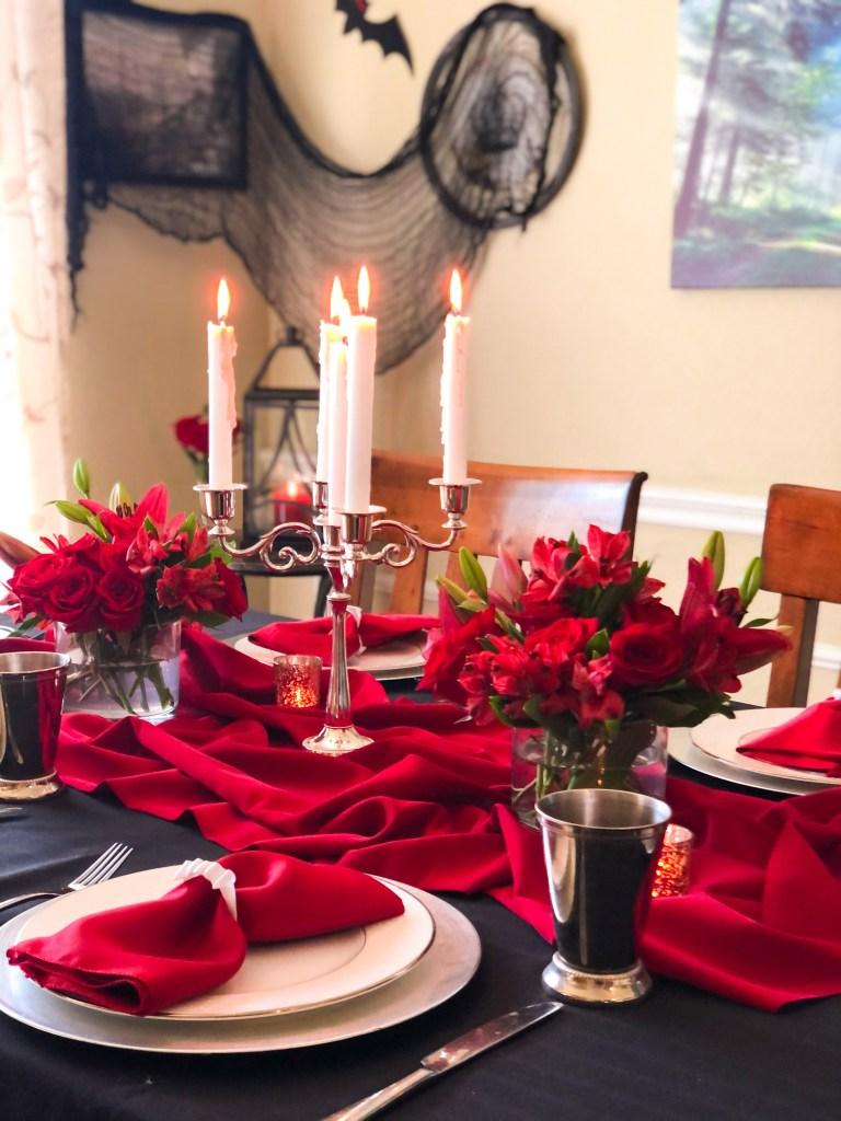 Ideas for Vampire Dinner Party - recipes music