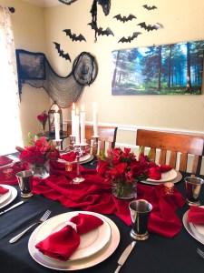 Vampire Dinner, Halloween Ideas, Recipes