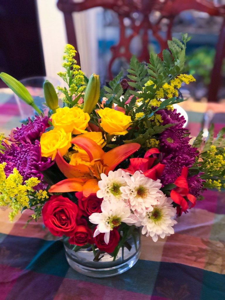 Thanksgiving Tablescape, Flowers, IDeas