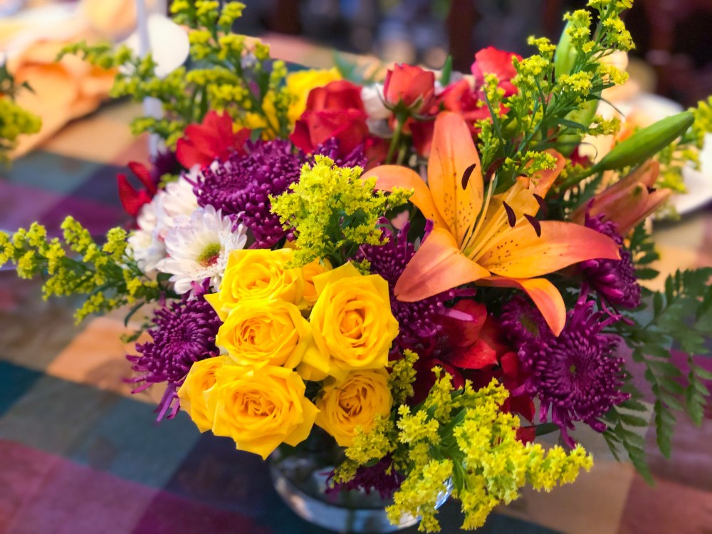Thanksgiving Tablescape, Flowers, IDeas