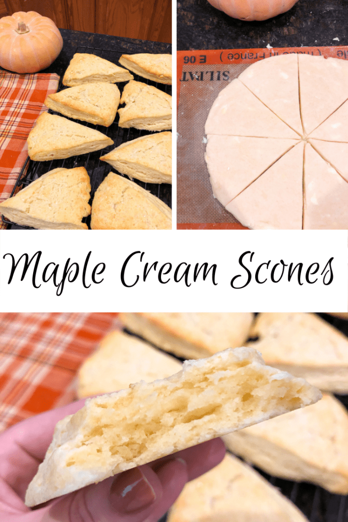 Maple Cream Scone Recipe