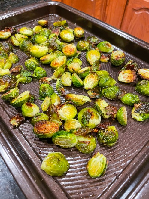 How to Roast Brussel sprouts