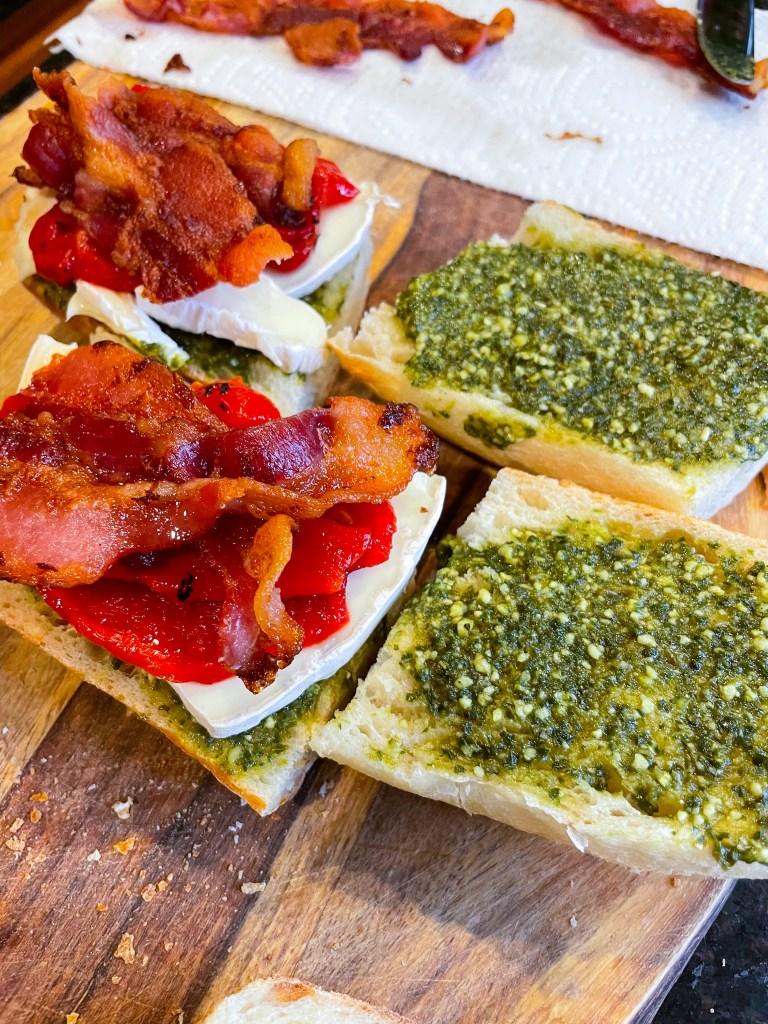 Pesto Picnic Sandwich