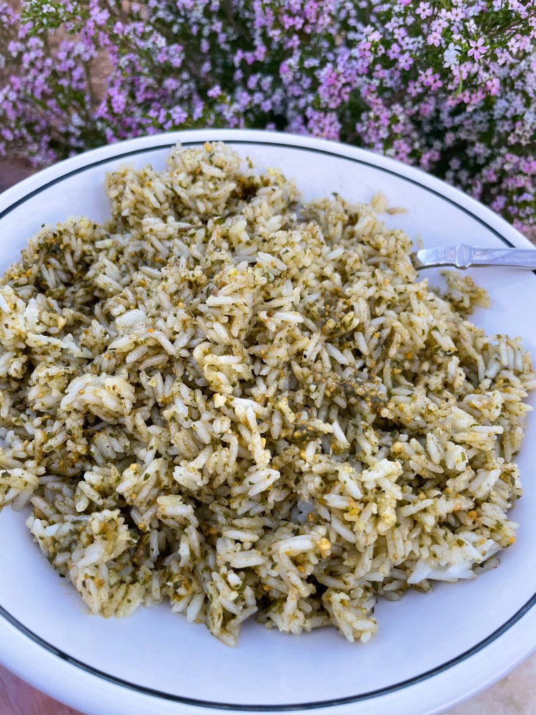 Easy Pesto Rice Recipe