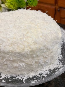 Coconut Vanilla Cake, aka The Good Cake