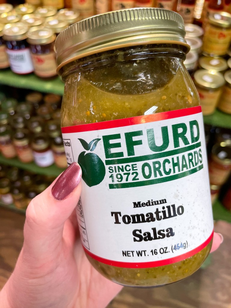 Visiting Efurd Orchards in Texas
