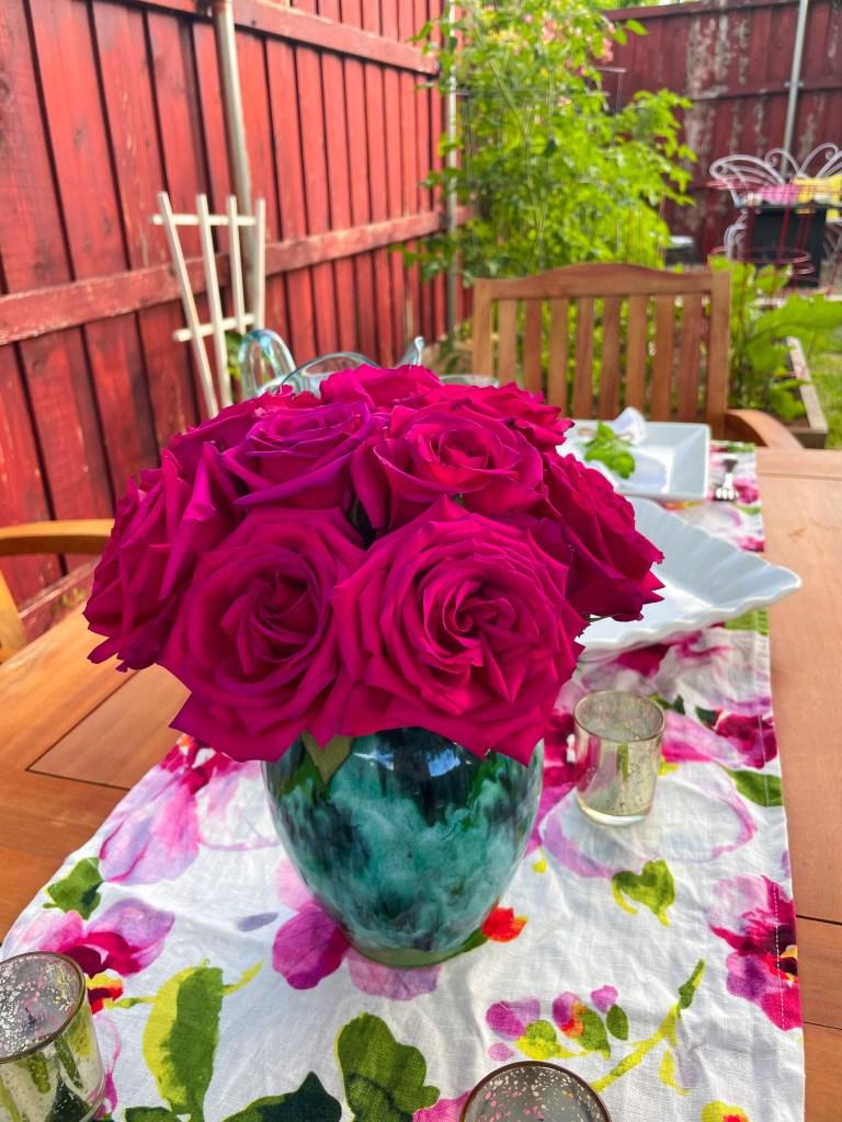 Blushing BBQ | Pink Garden Dinner