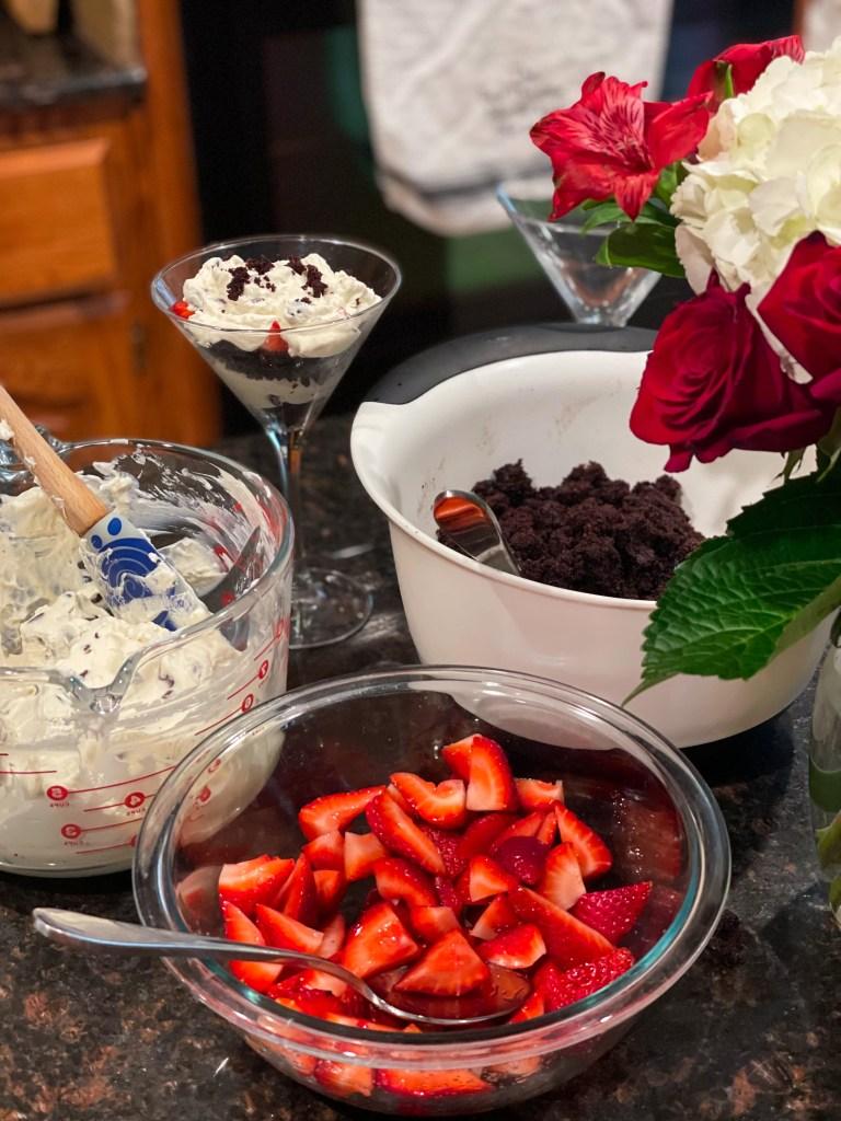 Cruella Trifle for a 101 Dalmatians Party