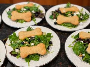 Pongo and Perdita Salad for a 101 Dalmatians Party