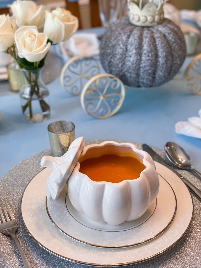 Fairytale Pumpkin Soup | Cinderella Recipe, Party Ideas