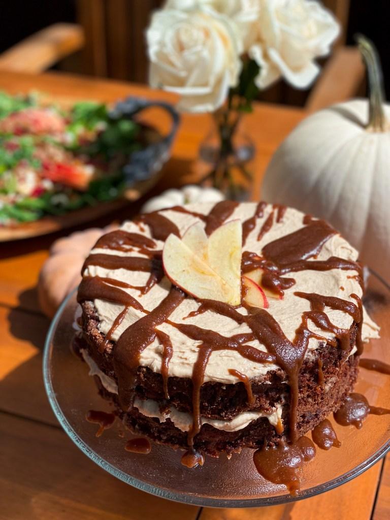 Caramel Apple Layer Cake