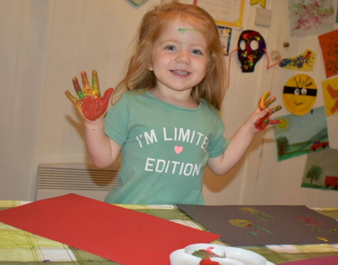 Working with children – You never know what to expect