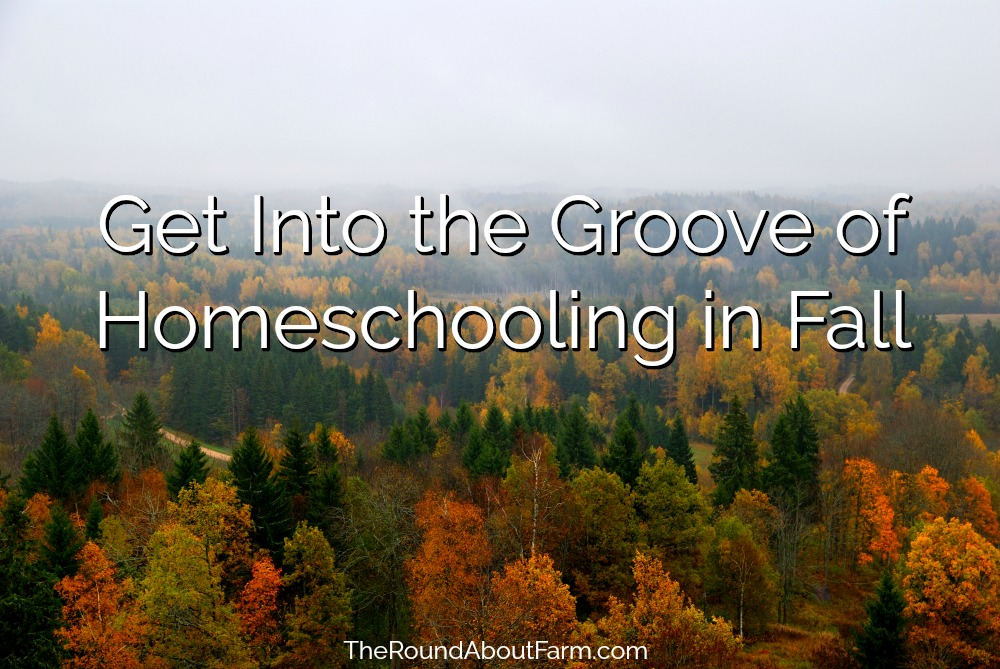Get Into the Groove of Homeschooling in Fall