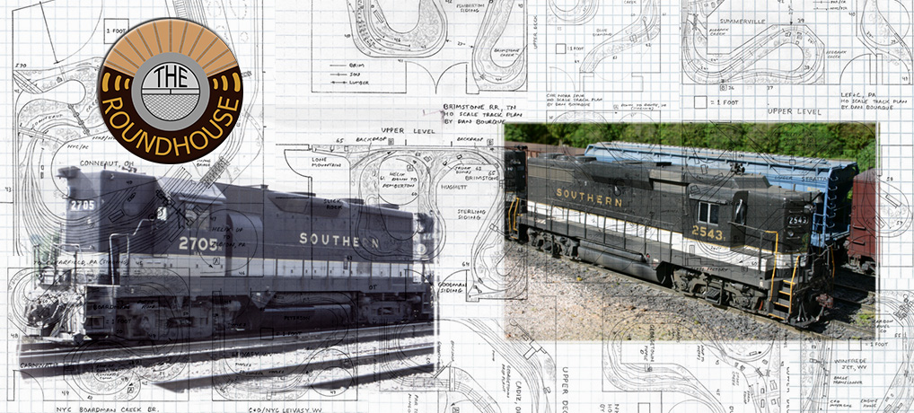 088: How to Design a Model Railroad - The Roundhouse Railroad Roundhouse Design on railroad siding design, railroad turntable design, railroad bridge design, railroad tunnel design, residential subdivision design, railroad track design, railroad depot design, railroad punch design,