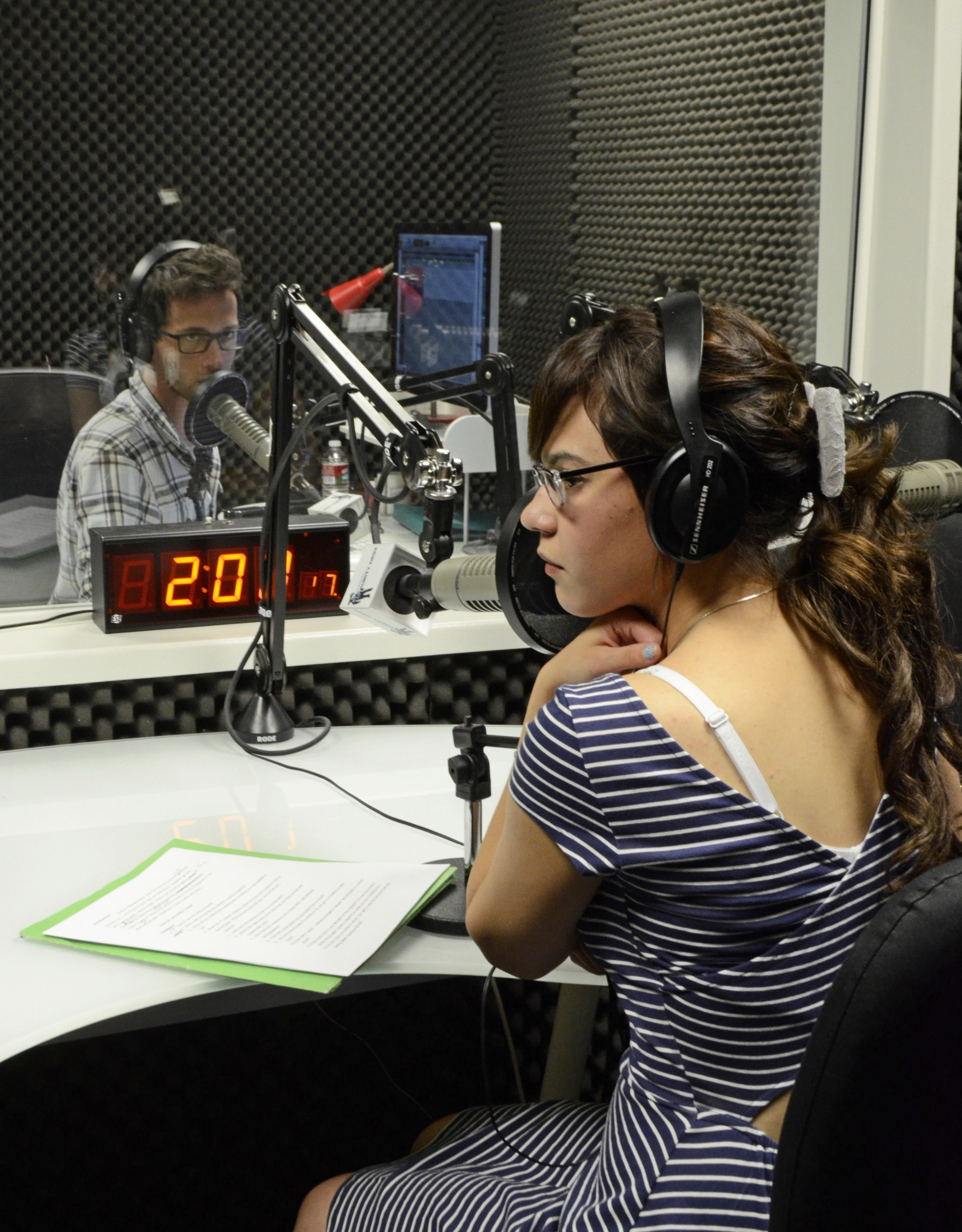 photo essay inside kpcradio com radio studio the roundup news