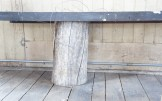 MRMusic Hall: stump bench