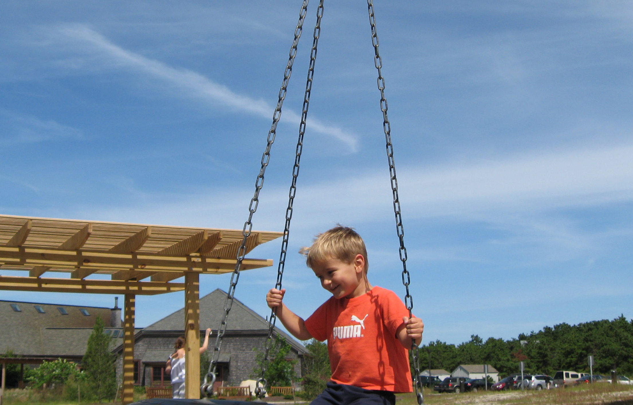 the twirling tire swing is the best!
