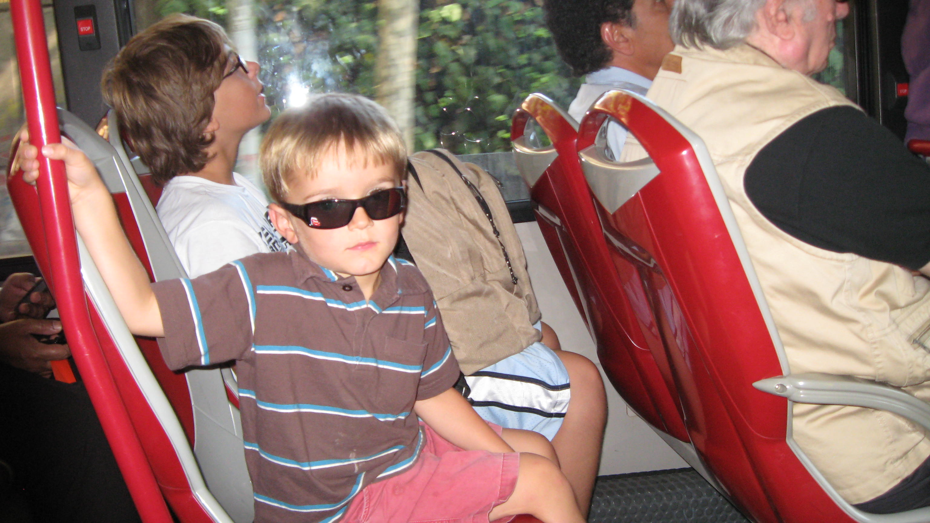 Jack on the bus