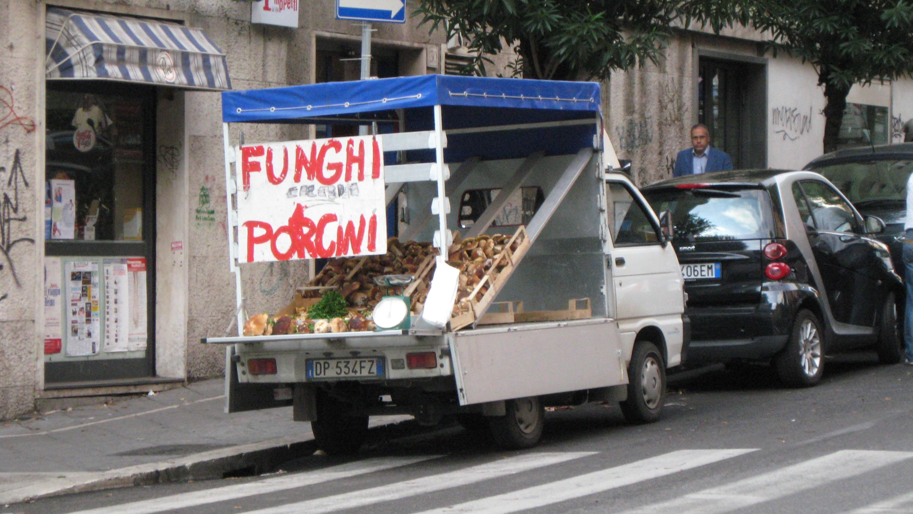 porcini cart