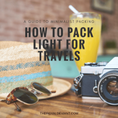 A Guide to Minimalist Packing: How to Pack Light for Travels