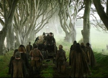 Kings road, Game of Thrones Locations
