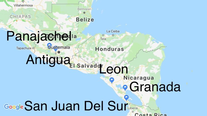 Trip Introduction: Central America Part One - The Royal Tour
