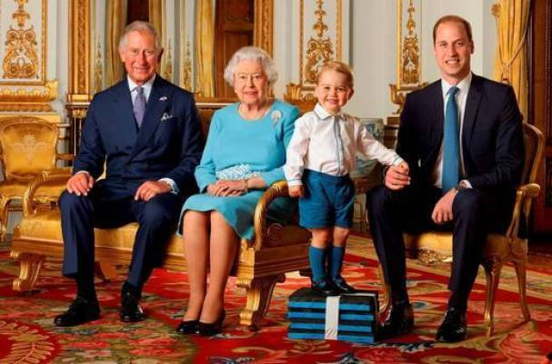 All four generation of The Royal Family together.