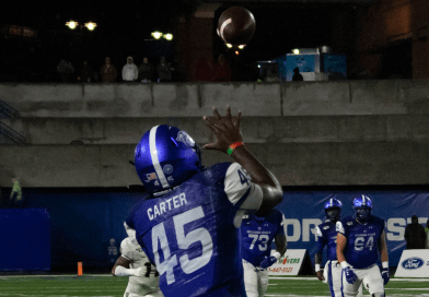 Georgia State Overcomes Late Hijinks, Escape Troy with 36-34 Win